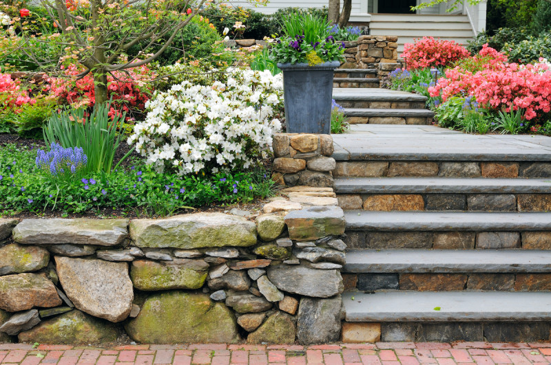 Benefits of Landscaping with Stone